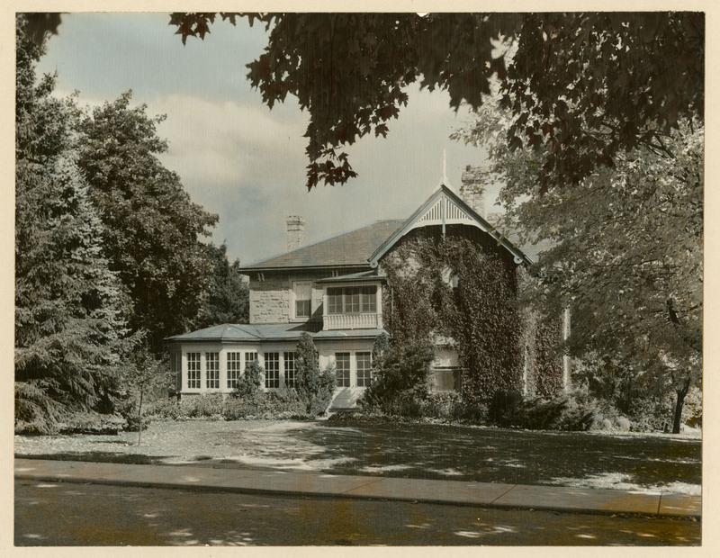 Photograph of the President's House taken in 1929