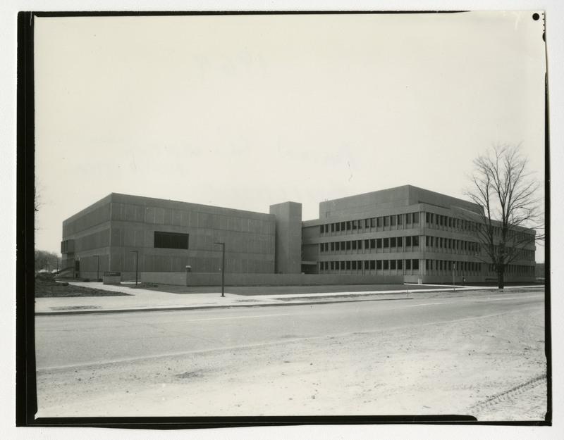 Animal Science Building, ca 1968