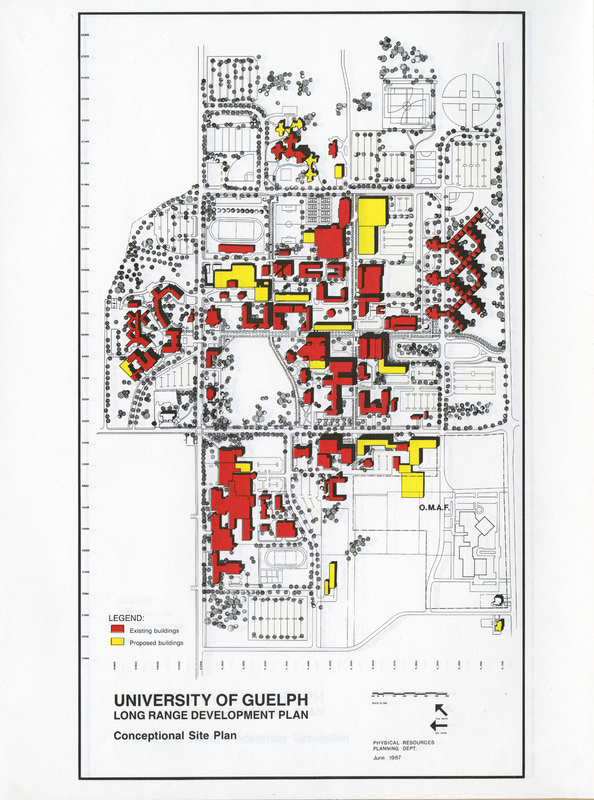 """Conceptual Site Plan 1987"""