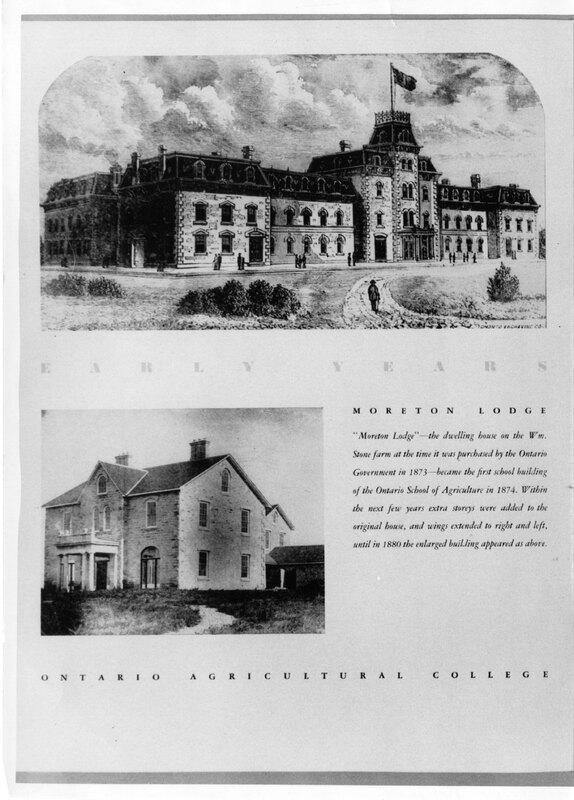 Moreton Lodge (first Johnston Hall)