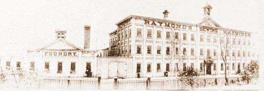 Raymond Sewing Machine Factory,Guelph, Ontario, Canada