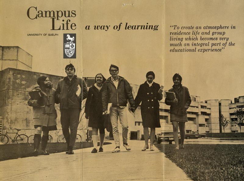 Campus Life Pamphlet, ca late 1960s - 1970s