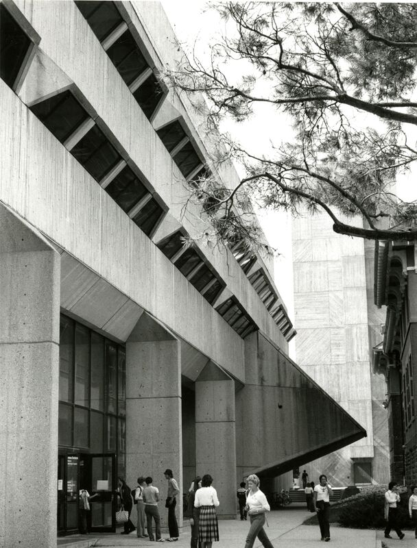 Photograph of Physical Sciences Building, 1970