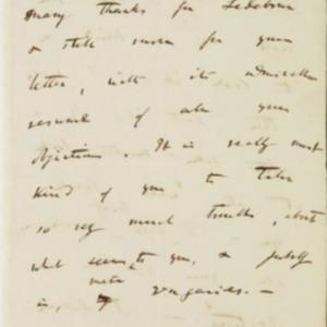 Letter from Charles Darwin to Joseph Hooker