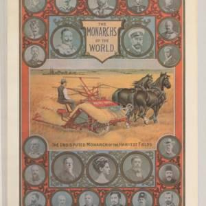 Massey Harris Monarchs Poster