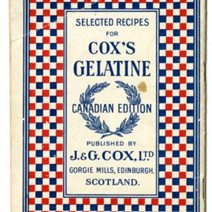 Selected Recipes for Cox's Gelatine