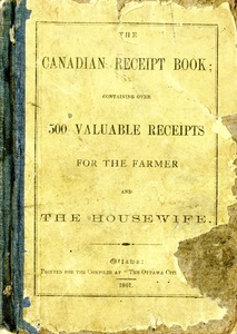 The Canadian Receipt Book