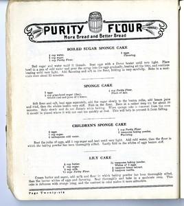 Purity Flour Cook Book