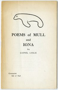 Poems of Mull and Iona